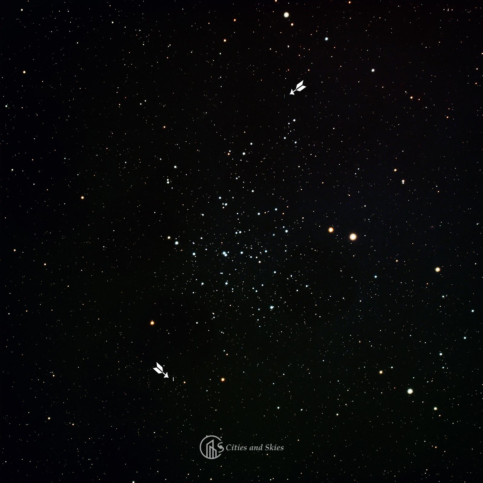 NGC 1647, (16) Psyche, (257) Sapientia