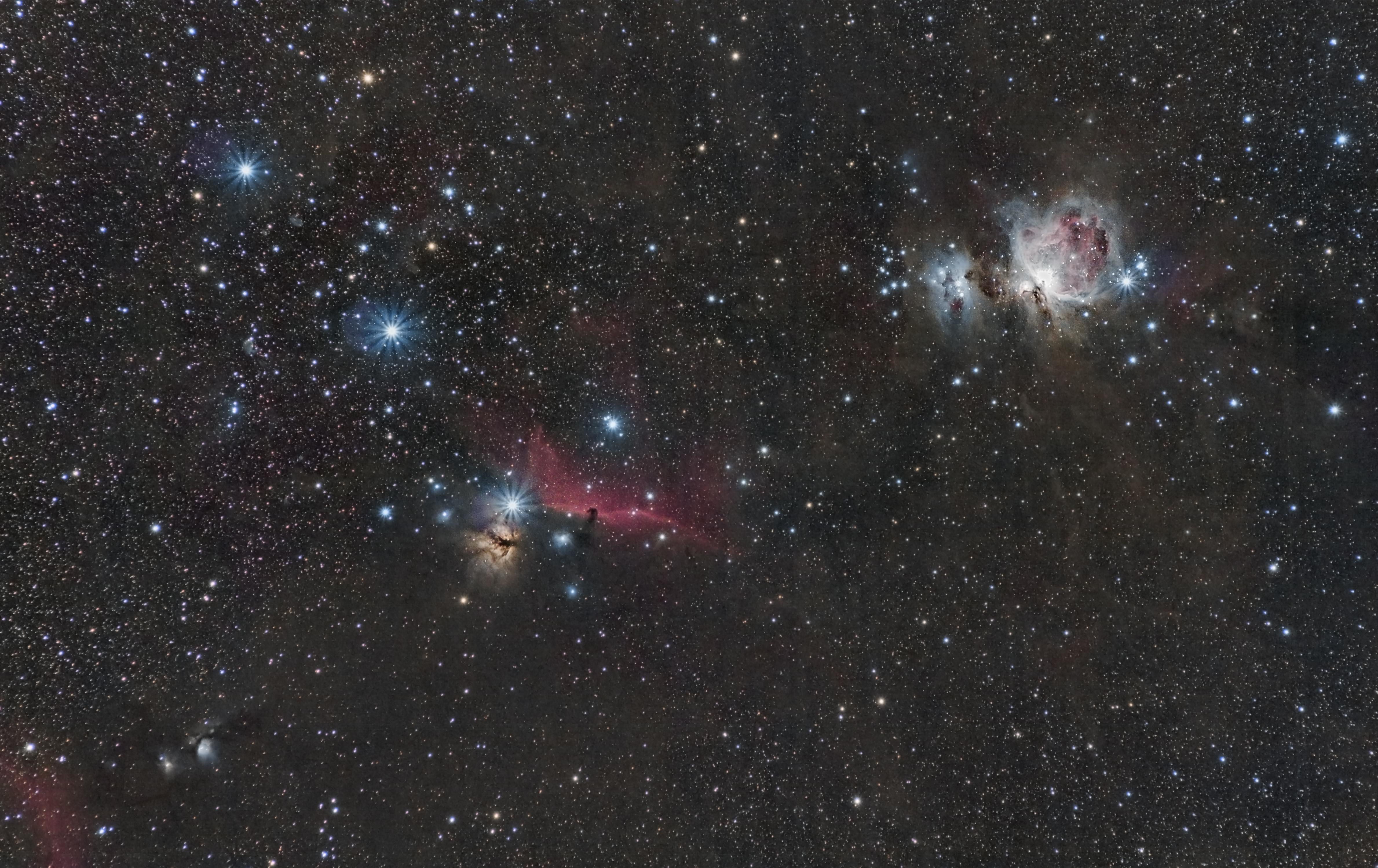 M78, IC 434, M42