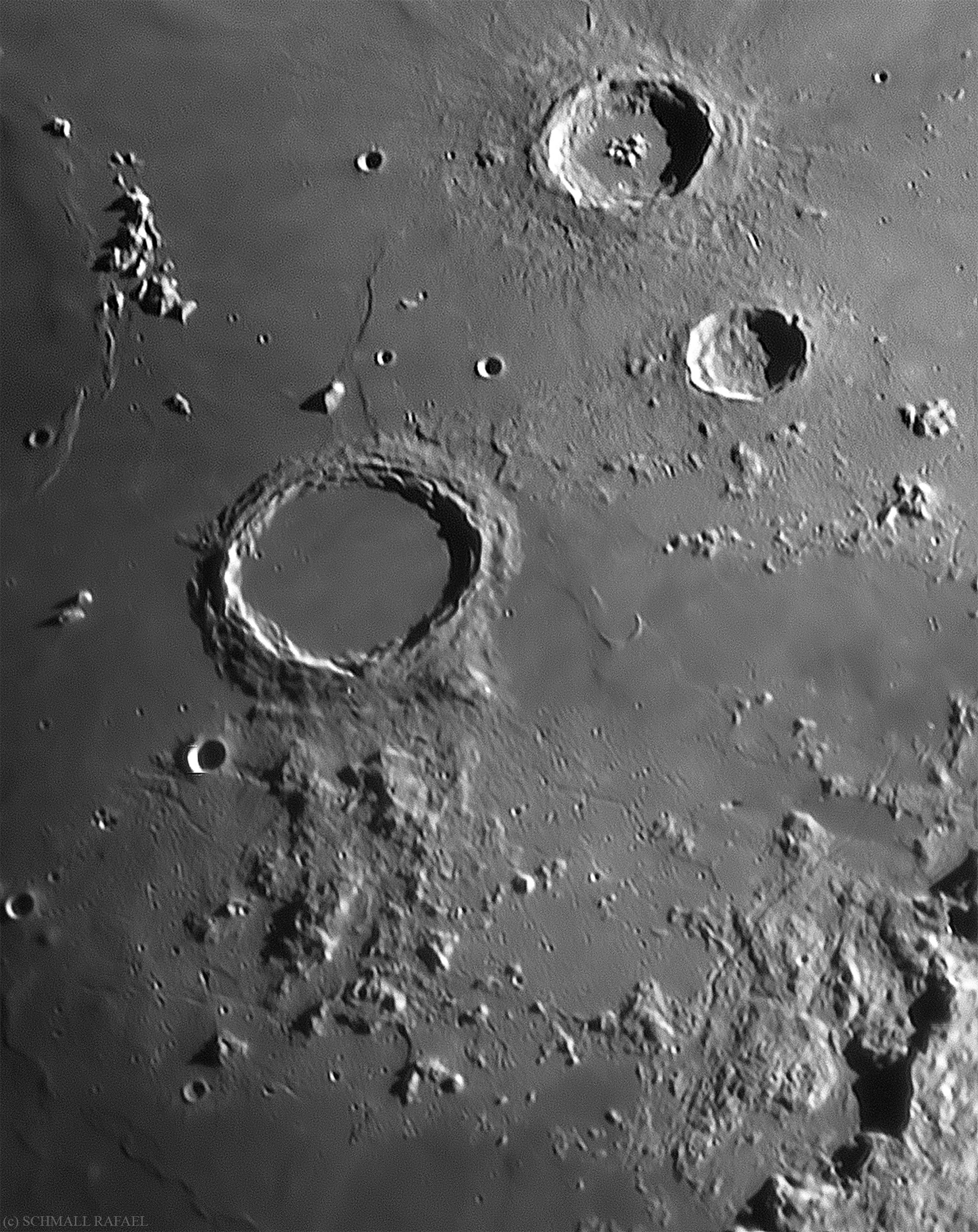 Archimedes kráter és környéke