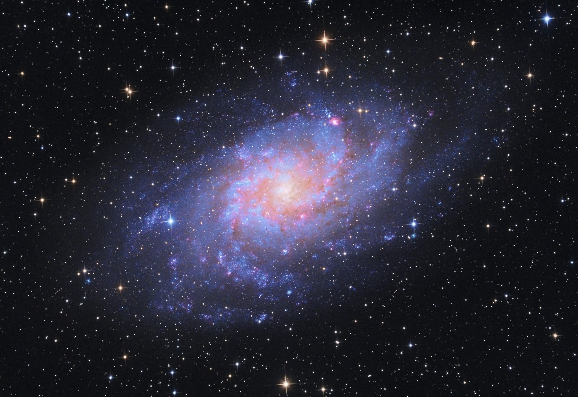 M33 Triangulum-galaxis