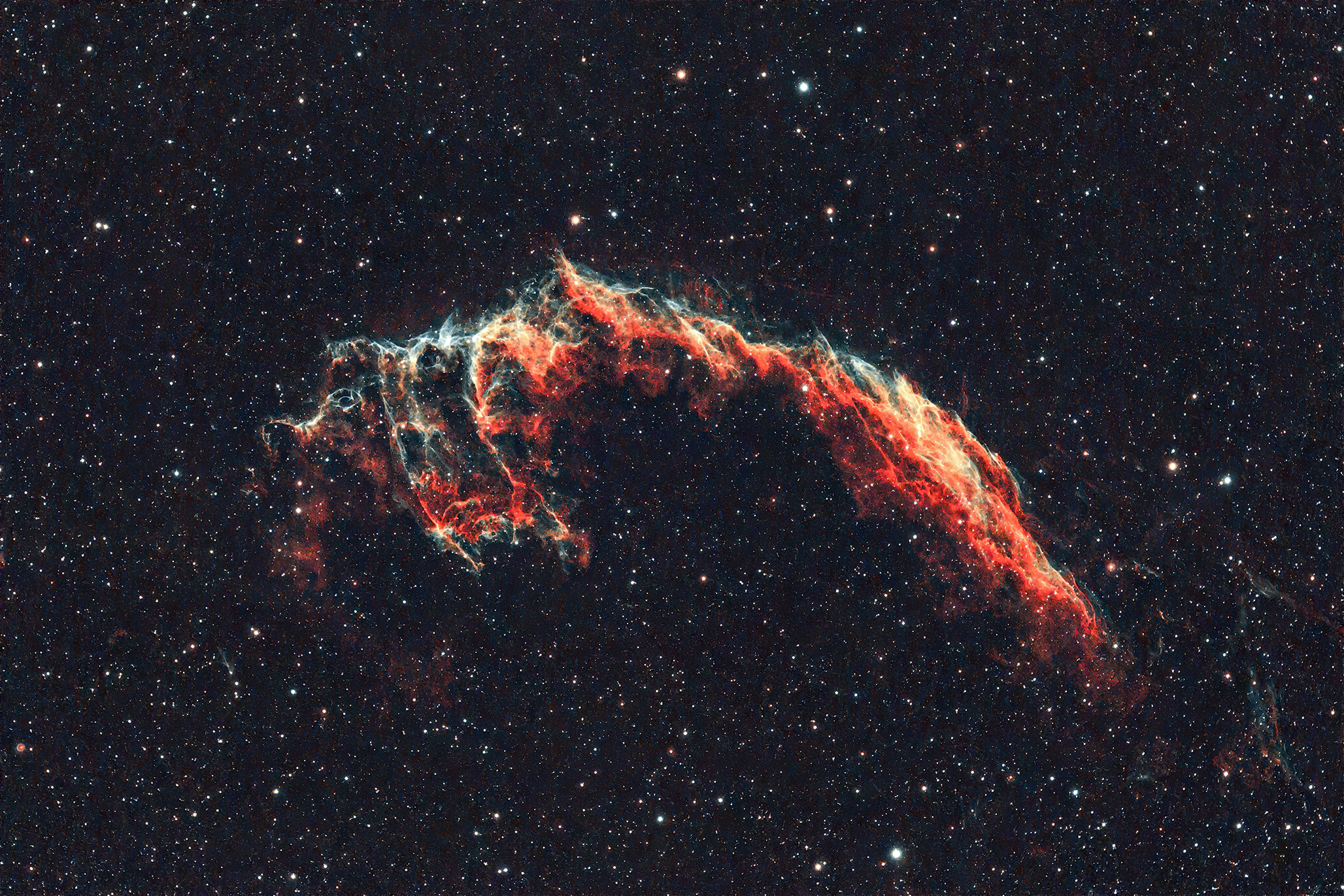 NGC6992 - Keleti Fátyol-köd