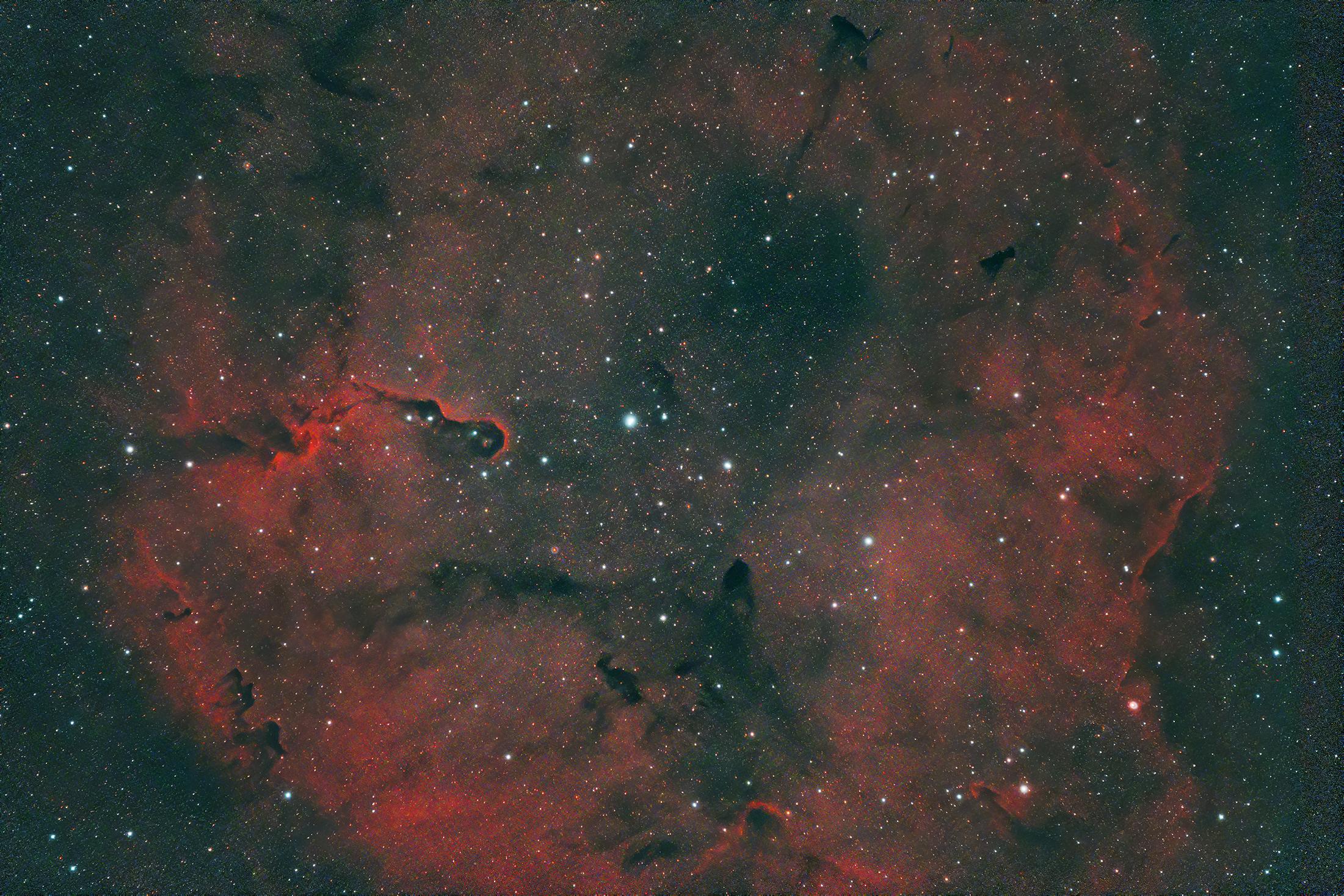 Az Elefántormány-köd (IC 1396)