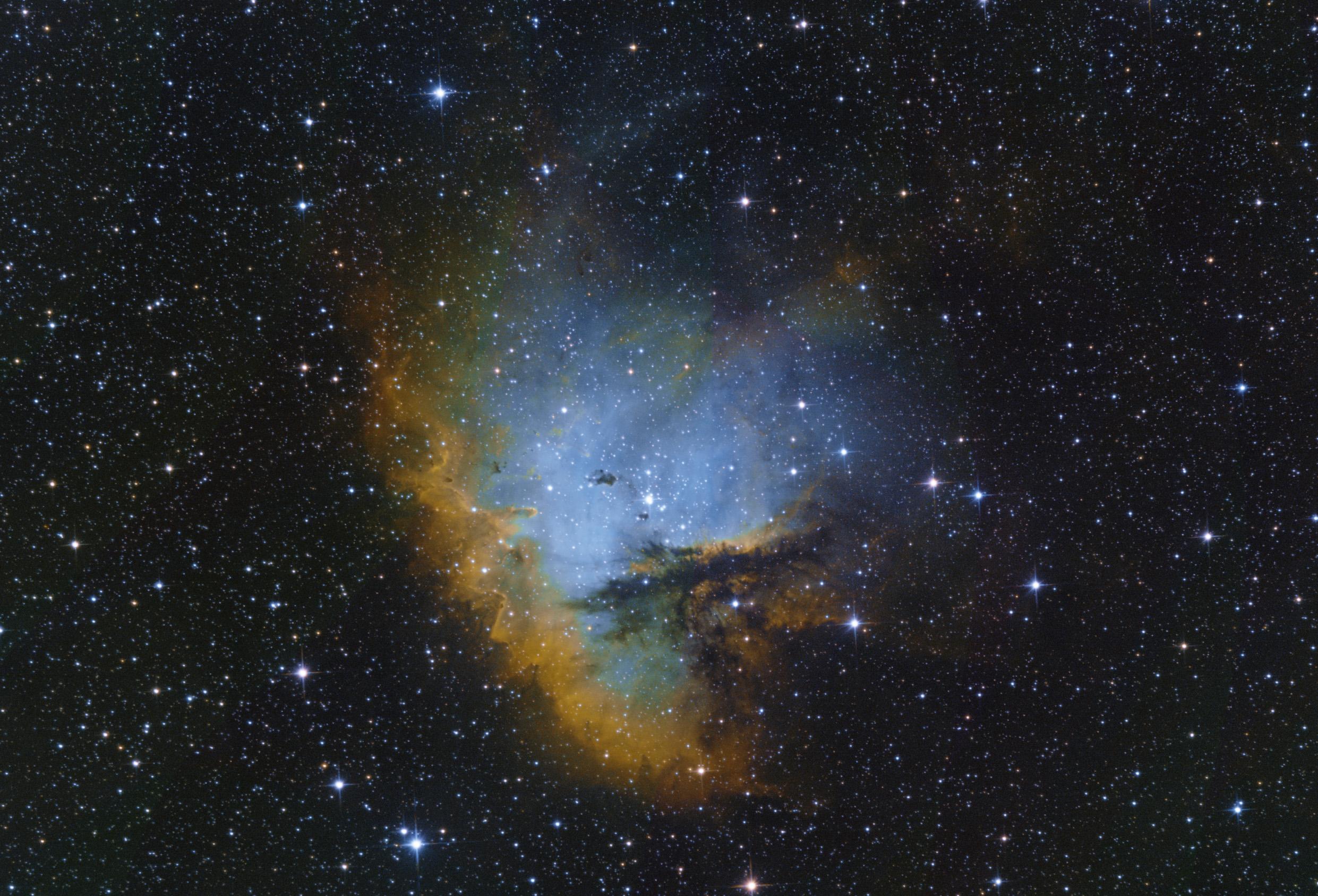 NGC 281 Pacman-köd