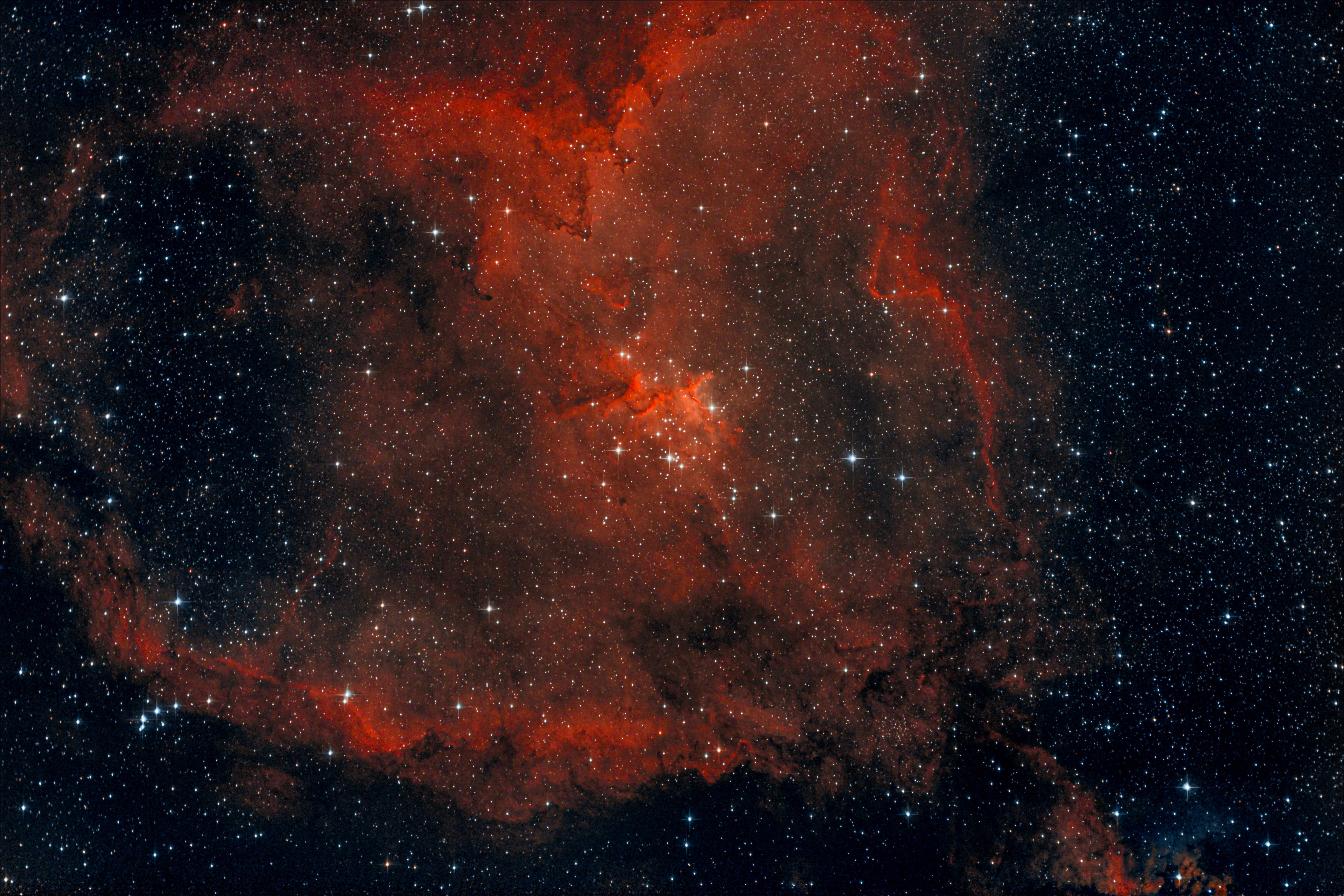 IC1805 - Szív-Köd (SH 2-190)
